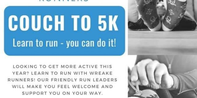 Couch To 5k Course Starts Feb 25th!
